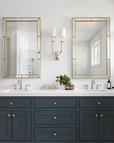 White and Gold Bathroom Decor . White and Gold Bathroom Decor . Elegant Bathroom with Wall Tiles Beautiful Brass Faucets Double Sink Bathroom, White Vanity Bathroom, Bathroom Vanity Cabinets, Gold Bathroom, Modern Bathroom, Mirror Bathroom, Brown Bathroom, Kitchen Cabinets, Bathroom Faucets