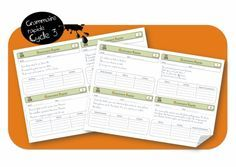 Grammaire rapide cycle 3 : pour les devoirs ou en rituel quotidien : GENIAL !