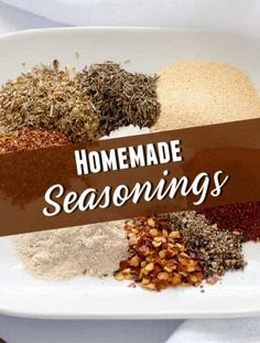 Check out this list of Homemade Seasoning Mixes as well as DIY recipes for grocery store swaps on food and cleaning supplies. Homemade Ranch Seasoning, Homemade Seasonings, Seasoning Mixes, Homemade Cleaning Supplies, Baking Supplies, Cleaning Hacks, Homemade Brownie Mix, Homemade Desserts, Cleaners Homemade