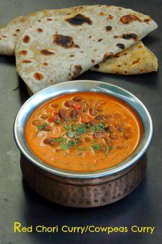 Red Chori Curry/Cowpeas Curry - No Onion, No Garlic