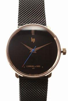 lip Watch Dauphine Black  lip Watch Dauphine Black 42120 フランスの名門時計ブランドLip(リップ)より Dauphine(ドーフィン)モデルのご紹介です!! 1957年から1961年まで生産されたWATCH DAUPHINEの復刻 イタリアのメタルバンドを使用しシックでモダンな仕上がり LIP社の持つクラシカルな雰囲気と COMMUNE DE PARISのモダンなデザインをミックスさせた 珠玉のコラボレーションモデル!!! 適度なサイズとシンプルなデザインで スタイルを選ぶ事なく着けていただけます 他のアクセサリー類との相性も ご自身用に贈り物用に是非ご検討くださいませ リップ/LIP…