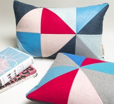 So chic! Colourful pillows www.etsy.com/shop/palsbyognash