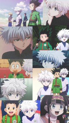 This wallpaper is from Hunter x Hunter! Press photo to see credits. Killua, Alluka Zoldyck, Hunter X Hunter, Hunter Anime, Hippie Wallpaper, Cool Wallpaper, Cute Cartoon Wallpapers, Animes Wallpapers, Cute Anime Profile Pictures