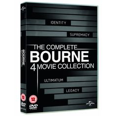 The Complete Bourne 4 Movie Collection [DVD] [2002]
