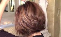 Résultat d'images pour Back of Dominique Sachse Hair Haircut