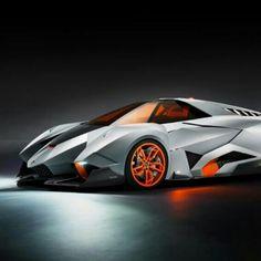 Lamborghini Egoista. The selfish car. Inspired by fighter jet design.