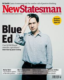 Kate Peters photographs 'Ed Miliband' for New Statesman