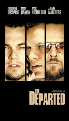 The Departed - Mark Wahlberg, Jack Nicholson, Leonardo DiCaprio, Matt Damon. Top Movies, Great Movies, Movies To Watch, Martin Scorsese, Movies And Series, Movies And Tv Shows, See Movie, Movie Tv, Image Film