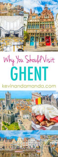 Ghent, Belgium. A be