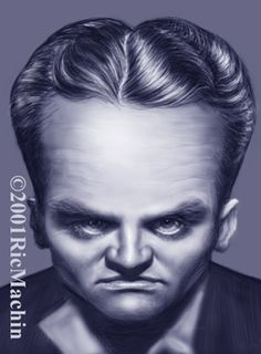 James Cagney Caricature    Sportcartoons Network works in conjunction with the best caricature artists in the world