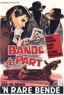 Bande à Part (Bande à Part) - Poster / Capa / Cartaz