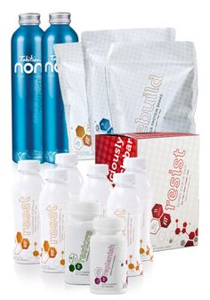 Fit Body Composition System Complete Pack includes everything you need to lose the fat and start building lean muscle!