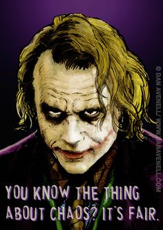 The Joker Say... Prints from £17/$25. HUGE sizes available. http://www.danavenell.com/jokersays/