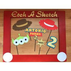 Toys story party ideas decoration photo booths 19 Ideas - Toys for years old happy toys Toy Story Birthday, 1st Boy Birthday, 2nd Birthday Parties, Birthday Party Decorations, Woody Birthday, Birthday Ideas, Fête Toy Story, Toy Story Baby, Toy Story Pictures