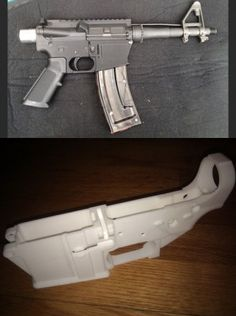 'Wiki Weapon Project' Aims To Create A Gun Anyone Can 3D-Print At Home