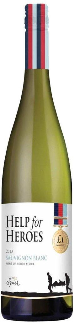 LIGHTNING DEAL @HelpforHeroes Wine Case: Sauvignon Blanc 2013 Wine 75cl (Case of 3) £22.99