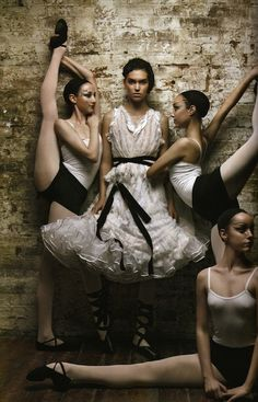 """""""Let's Dance"""": Arizona Muse in Spring Couture with Dancers By Patrick Demarchelier for Vogue UK"""