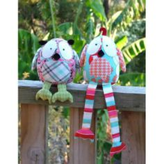 Melly & Me Hooty and Tweet Owls Stuffed Toy Pattern