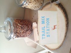 Trail Mix Station - Camp Party