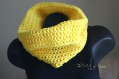 """The Tiarra"" Crochet Cowl"