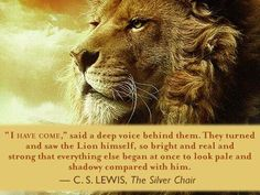 The official home of The Chronicles of Narnia by C. Find the complete list of Narnia books, Narnia news, and Narnia movie announcements. Aslan Quotes, Book Quotes, Soundtrack, Aslan Narnia, The Silver Chair, Religion, Lion Of Judah, Chronicles Of Narnia, Cs Lewis