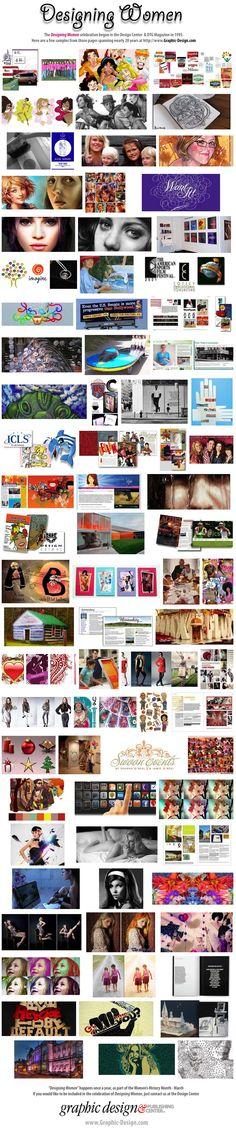 60 Designing Women . . . Celebrating 20 Years of Designing Women in DTG Magazine and the Design & Publishing Center