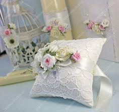Подушечка на свадьбу Цветочное вдохновение