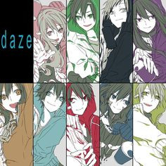 Page 3 Read from the story News about Kagerou Project by momobaban (Gọi Tui Là Baban) with 334 reads. Beautiful Anime Girl, I Love Anime, K Project, Kagerou Project, Cartoon Games, Disney Cartoons, Anime Comics, Vocaloid, Alice In Wonderland
