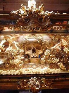Nice skull display
