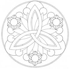 For this exercize, we were to create a mandala. We were allowed to use figurative elements, but aside from vaguely flower-esque shapes, I decided not to. Mandala lines Easy Coloring Pages, Mandala Coloring Pages, Printable Coloring Pages, Coloring Books, Zentangle Patterns, Embroidery Patterns, Zentangles, Simple Mandala, Mandalas Drawing