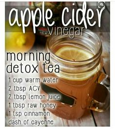 Morning detox tea
