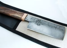 Hand Forged japanese style kitchen knife. Gallery   HAND FORGE