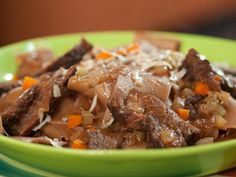 Short Rib Ragu with Drunken Pappardelle Recipe : Rachael Ray : Food Network - FoodNetwork.com