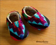 Aztec Southwest Eco Friendly Baby Booties