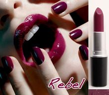 Rebellen Schönheit Eiskönigin lippenstifte mc lippenstift professionellen make-up wasserdicht lip stick kosmetische batom lippenstift matt kh011(China (Mainland))