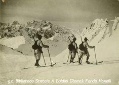 Pattuglia di Alpini sciatori - zona Adamello - Pizzo dei Tre Legionari
