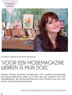 FAK Magazine - Studente journalistiek heeft modeblog