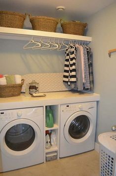 Diy Laundry Room Ideas Small If you are looking for Diy laundry room ideas small you've come to the right place. We have collect images about Diy laundry room ideas small includin. Laundry Room Layouts, Laundry Room Shelves, Laundry Room Remodel, Basement Laundry, Small Laundry Rooms, Laundry Room Organization, Laundry Room Design, Storage Shelves, Organization Ideas