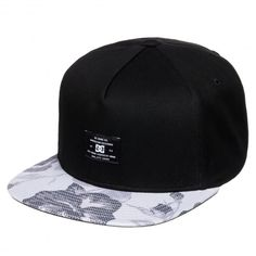 DC Shoes Foregore casquette snapback black. Skate HatsDc ... 0eb53ee4f22e