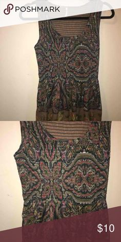 Free people tank Free people tank top. Great for summer. Super light weight and sinched at the waist. Worn once Free People Other