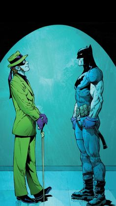 Riddler Confronts Batman - Greg Capullo
