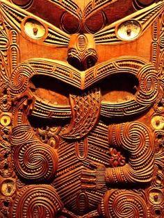 size: Photographic Print: Historic Maori Carving, Otago Museum, New Zealand by David Wall : Artists Maori Designs, Tattoo Designs, Maori People, Polynesian Art, Maori Art, Kiwiana, Wow Art, Ocean Art, Aboriginal Art