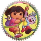 Dora The Explorer Baking Cups 50ct- Cupcake Supplies- Cake Supplies- Birthday Party Supplies - Party City