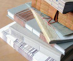 book models - Hermosuras de Natalie Stopka, una artista fabulosa combinando papeles, hilos, puntillas, telas y magia!!