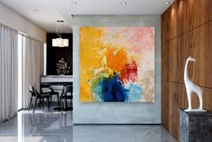 Large Modern Wall Art Painting,Large Abstract Painting on Canvas,large art on canvas,texture art painting,canvas wall art FY0095