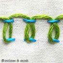Lots of Embroidery Stitches Tutorials ✿Teresa Restegui http://www.pinterest.com/teretegui/✿