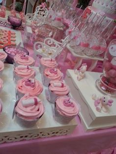 Shabby chic Baby Shower Party Ideas | Photo 5 of 21 | Catch My Party