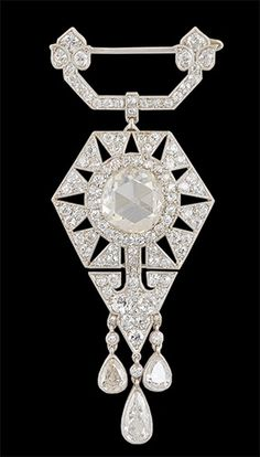 Art Deco CARTIER Dia beauty bling jewelry fashion