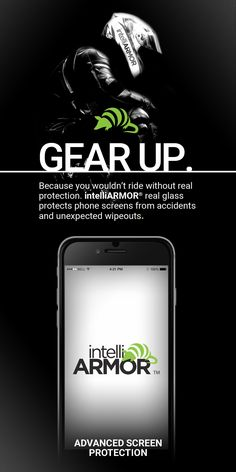 For those who live life in the fast lane, protection is a must! Protect your phone screen with #IntelliArmour #Intelliglass today!