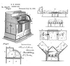 On July Sarah Jacobs received a patent for the cabinet bed. She was the FIRST African American woman to receive a patent in the United States. Geometric Sculpture, History Class, African Diaspora, Steampunk Diy, African American Women, Women In History, Black History Month, Inventions